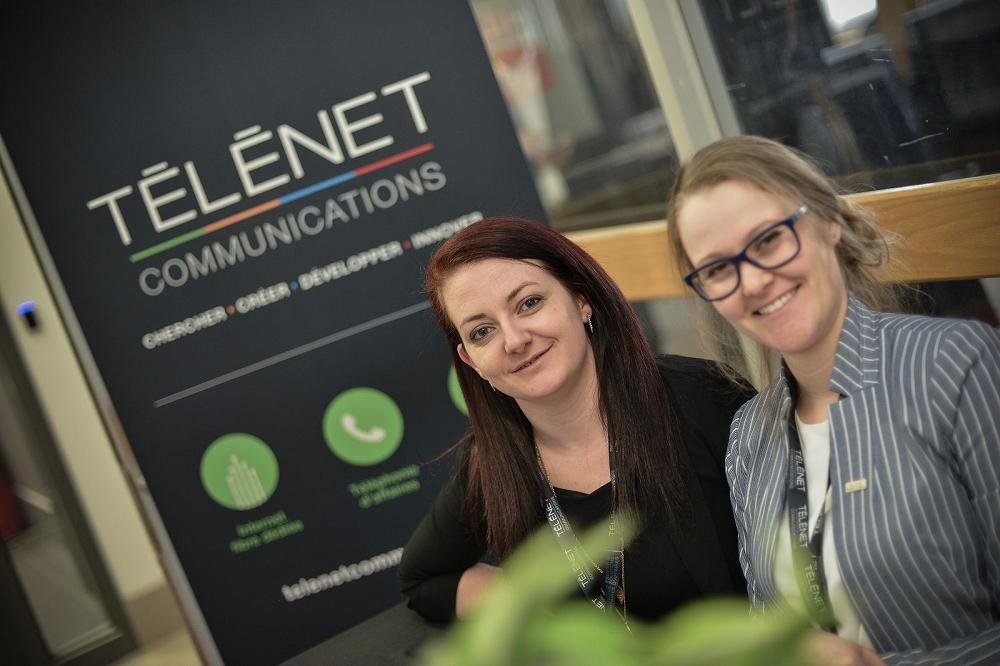 Soulignons l'évolution de Télénet Communications